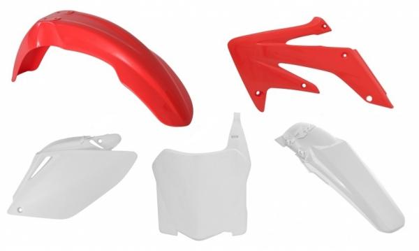 Kit plastiques HONDA CRF 250 08-09. Crédits : ©accessoires-moto-enduro-cross.fr 2018