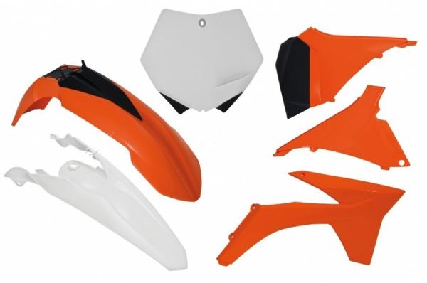 Kit plastiques KTM SX/SXF 11-12. Crédits : ©accessoires-moto-enduro-cross.fr 2018