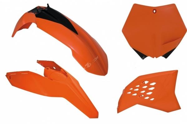 Kit plastiques KTM 65 SX 09-11. Crédits : ©accessoires-moto-enduro-cross.fr 2018
