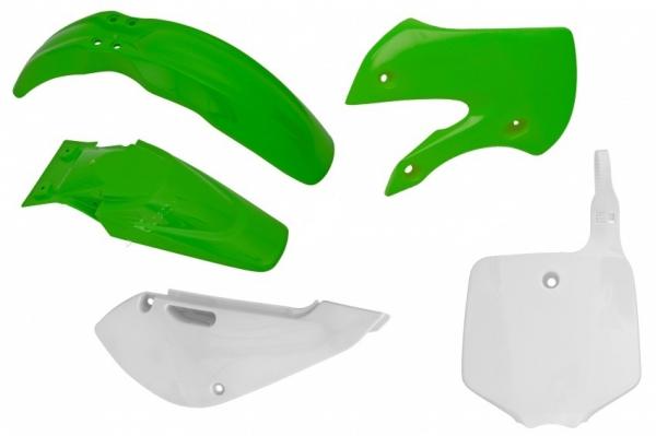 Kit plastiques KX 65 01-18. Crédits : ©accessoires-moto-enduro-cross.fr 2018