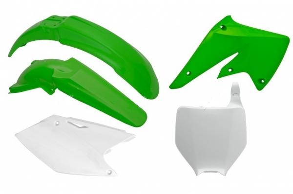 Kit plastiques KAWASAKI KXF 250 04-05. Crédits : ©accessoires-moto-enduro-cross.fr 2018