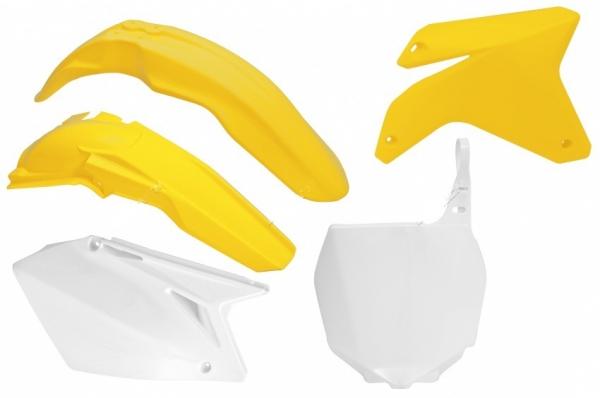 Kit plastiques SUZUKI RMZ 450 05-06. Crédits : ©accessoires-moto-enduro-cross.fr 2018
