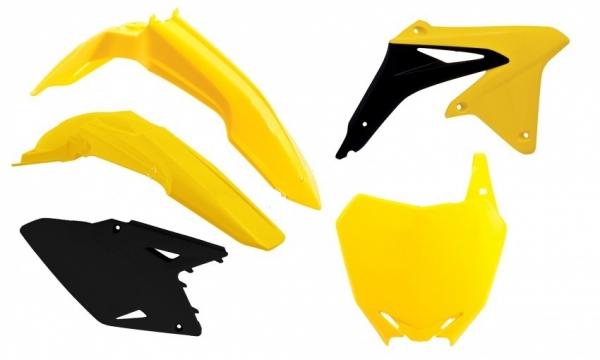 Kit plastiques SUZUKI RMZ 450 08-17. Crédits : ©accessoires-moto-enduro-cross.fr 2018