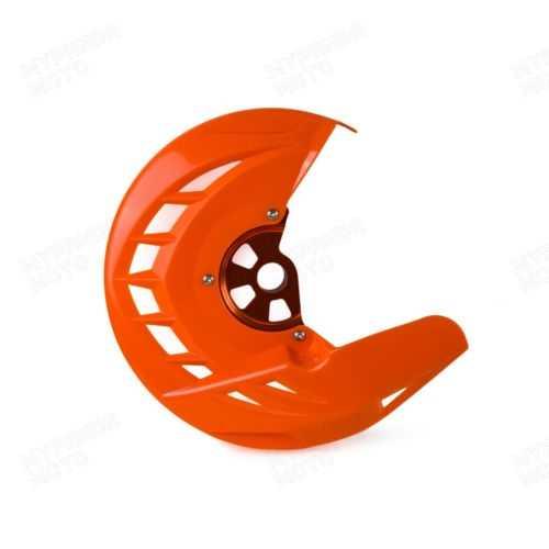 Protège disque de frein avant KTM 03-16. Crédits : ©accessoires-moto-enduro-cross.fr 2016