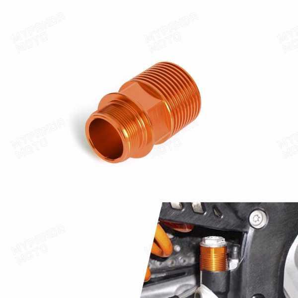 Extension de maitre cylindre de frein arriere KTM 04-17. Crédits : ©accessoires-moto-enduro-cross.fr 2016