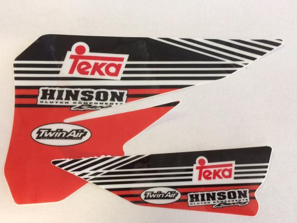 AUTOCOLLANTS DE BOITIER DE FILTRE A AIR KTM SX/SXF 04-06 EXC/EXCF 04-07. Crédits : ©accessoires-moto-enduro-cross.fr 2018