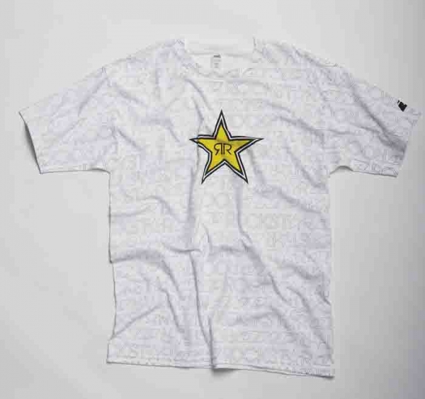 T-shirt enfant ONE INDUSTRIE ROCKSTAR writing. Crédits : ©accessoires-moto-enduro-cross.fr 2017