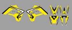 Kit déco PROSTIK GASGAS EC 01-06. Crédits : ©accessoires-moto-enduro-cross.fr 2016