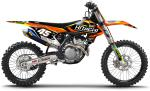 KIT DECO REPLICA HITACHI TEAM KTM SX/SXF 16-18. Crédits : ©accessoires-moto-enduro-cross.fr 2018
