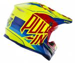 CASQUE CROSS PULL-IN MOTO RED 18. Crédits : ©accessoires-moto-enduro-cross.fr 2018