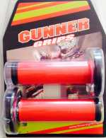 Poignées GUNNER GRIPS FULL DIAMOND. Crédits : ©accessoires-moto-enduro-cross.fr 2016